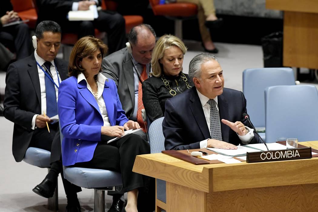 Colombia pide solidaridad internacional en  la OEA para crisis en la frontera con Ecuador