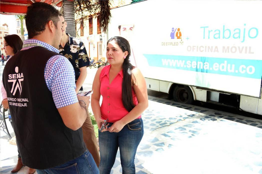 La Oficina Móvil de Empleo del Sena recorrerá Santander