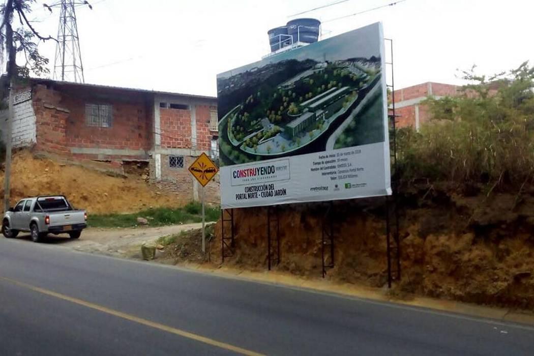 Este viernes inicia cierre parcial en vía al Norte de Bucaramanga