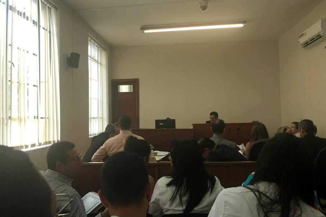 Arrancó audiencia de acusación contra 'Lucho' Bohórquez