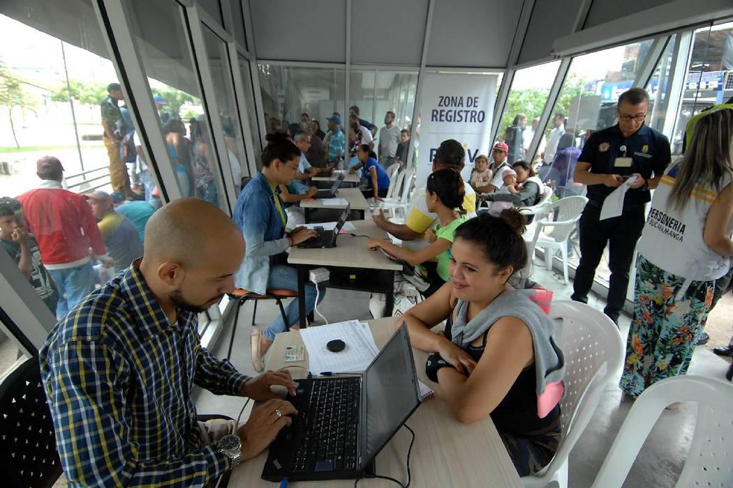 Registro de venezolanos en Bucaramanga es muy bajo: Alcaldía