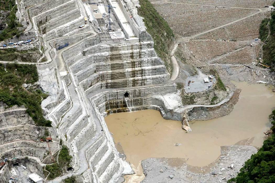 Proyecto Hidroituango alcanzó  la meta: cota 410 metros