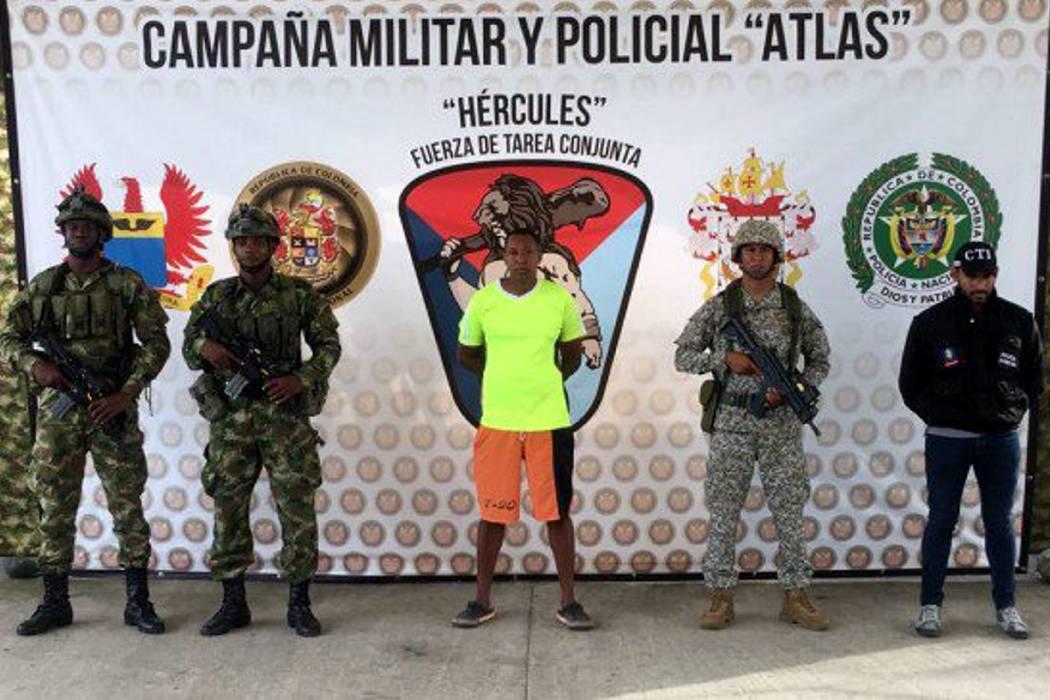 Capturan al hermano de alias 'Guacho' en Nariño