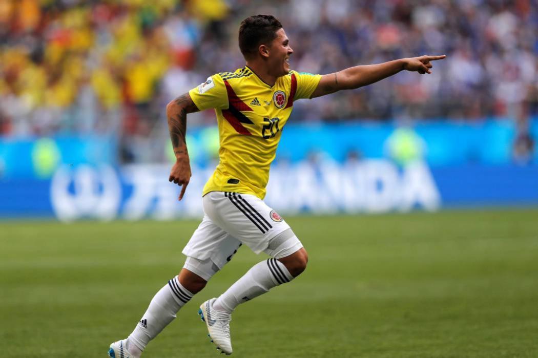 Juan Fernando Quintero, primer colombiano en anotar en dos mundiales