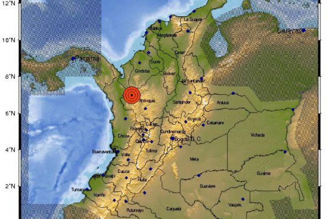 Fuerte temblor sacudió al Urabá antioqueño