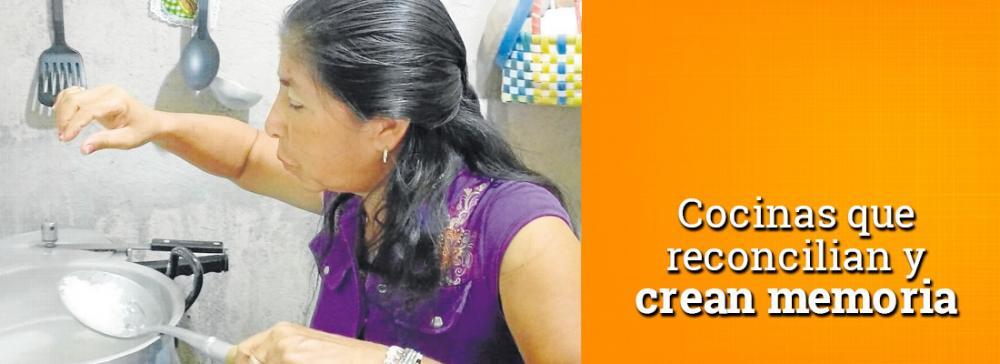 Cocinas Cocinas que reconcilian y crean memoria en Bucaramangareconcilian y crean memoria en Bucarmanga