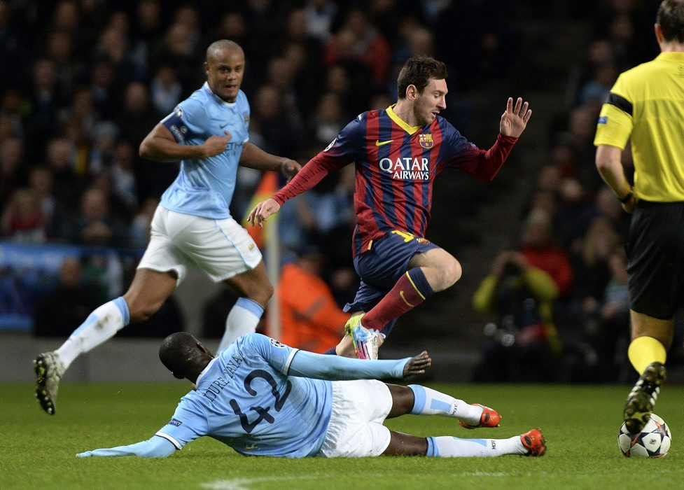 resumen del partido del barcelona vs manchester city