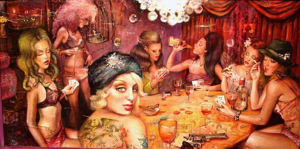 pinturas prostitutas prostitutas bailando