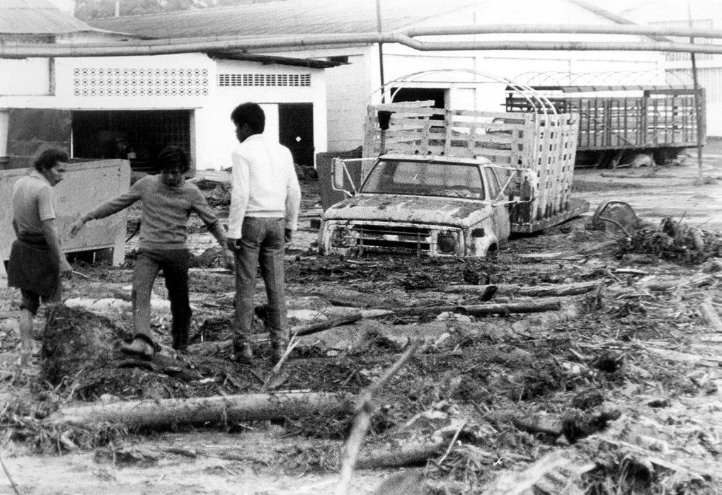 Las imágenes más recordadas de la tragedia de Armero
