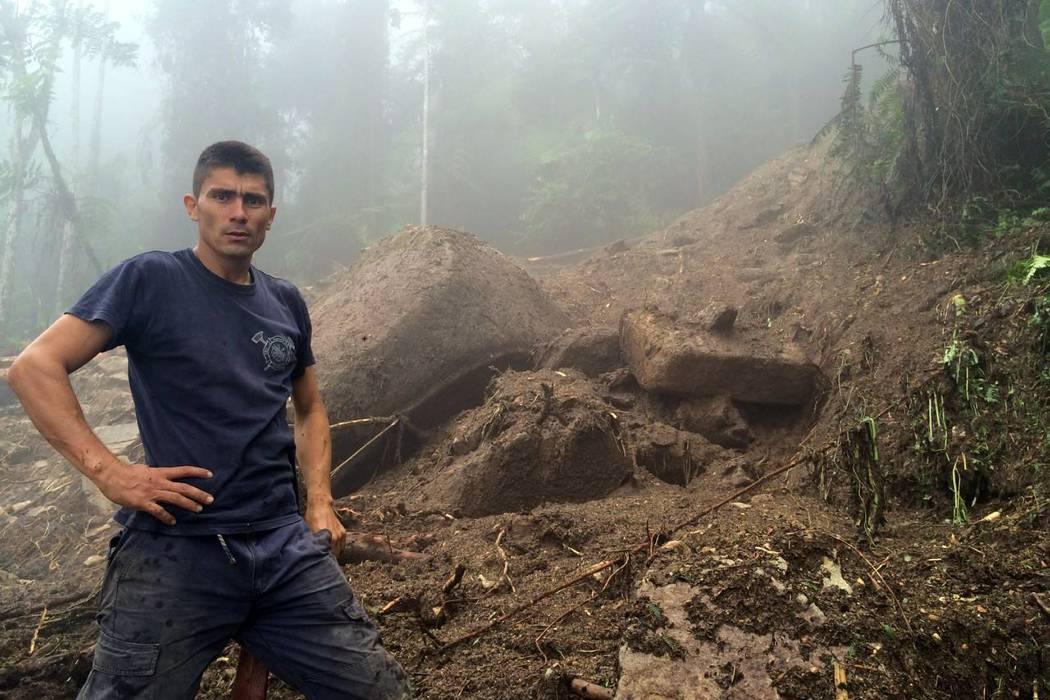 Imágenes de las afectaciones que dejó la lluvia en Piedecuesta
