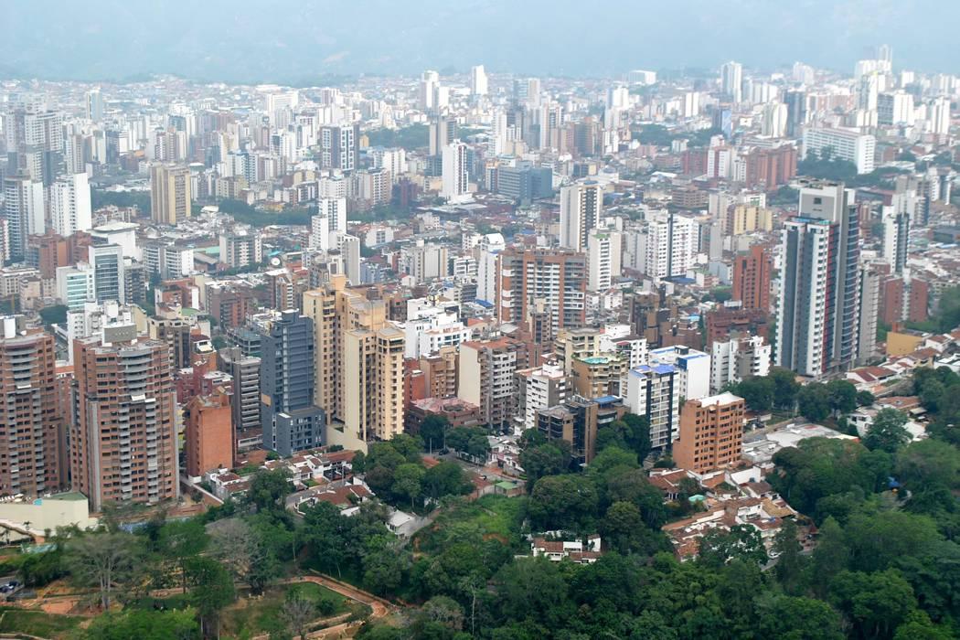 Bucaramanga vista desde las alturas