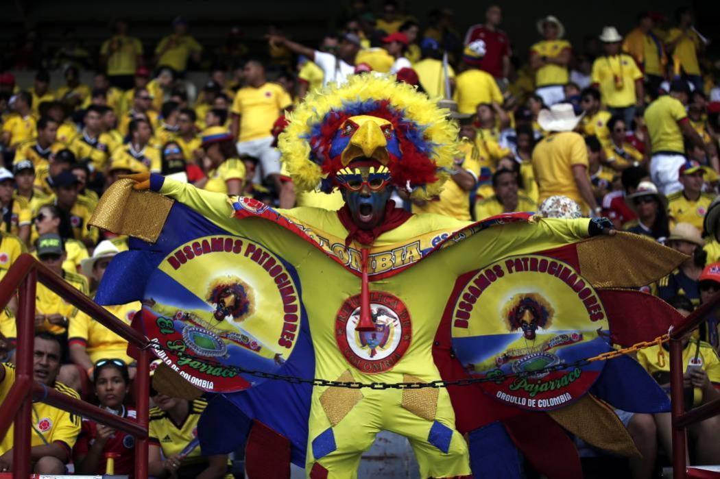 Así se vivió la fiesta de Colombia en el Metropolitano