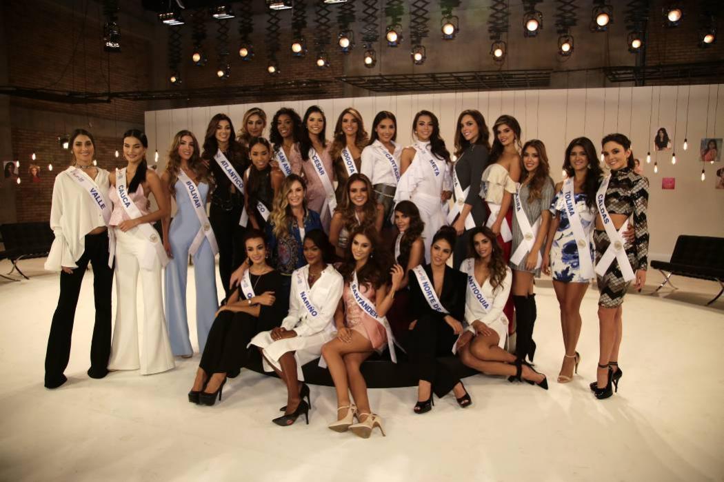 Estas son las candidatas del Concurso Nacional de Belleza 2017