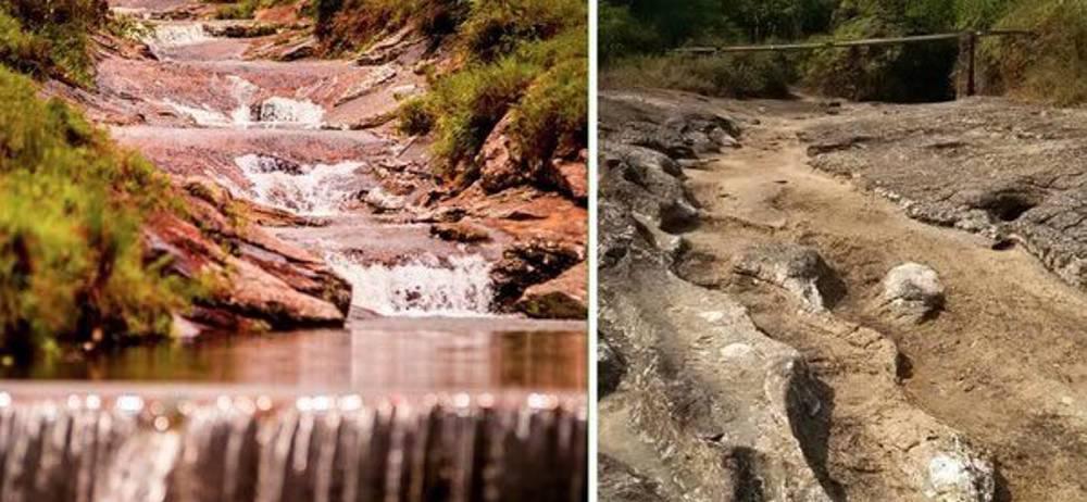 Quebradas de Guadalupe, Santander, se están secando