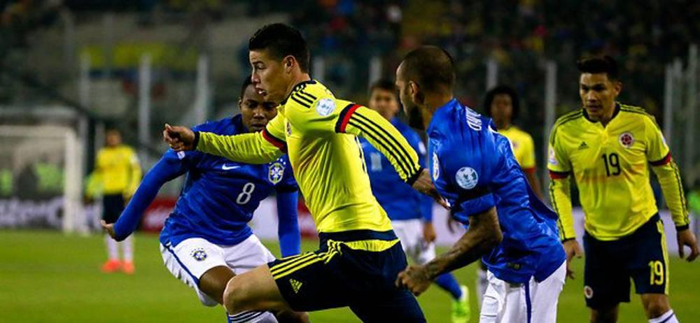 Brasil vs. Colombia se jugará en Manaos el 6 de septiembre