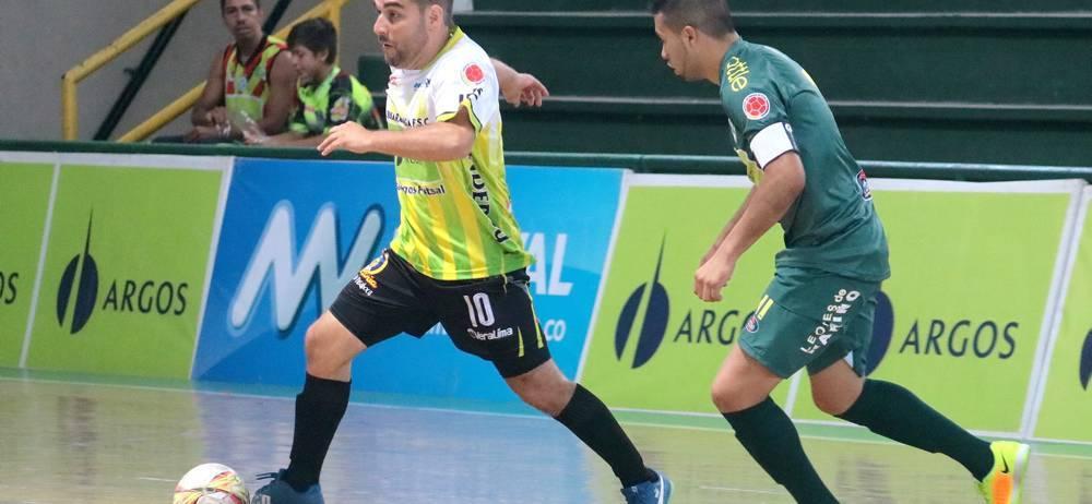 Fecha a fecha, Real Bucaramanga ratifica que es uno de los principales candidatos al título de la Liga Argos de futsal. El cuadro bumangués es líder del Grupo B de la competencia.