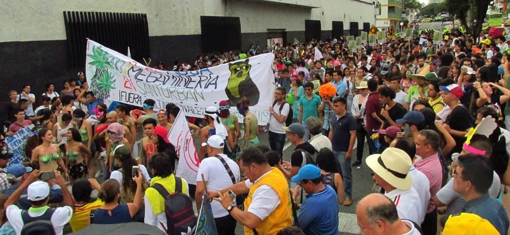 La fecha de la protesta fue confirmada por la Alcaldía de Bucaramanga.