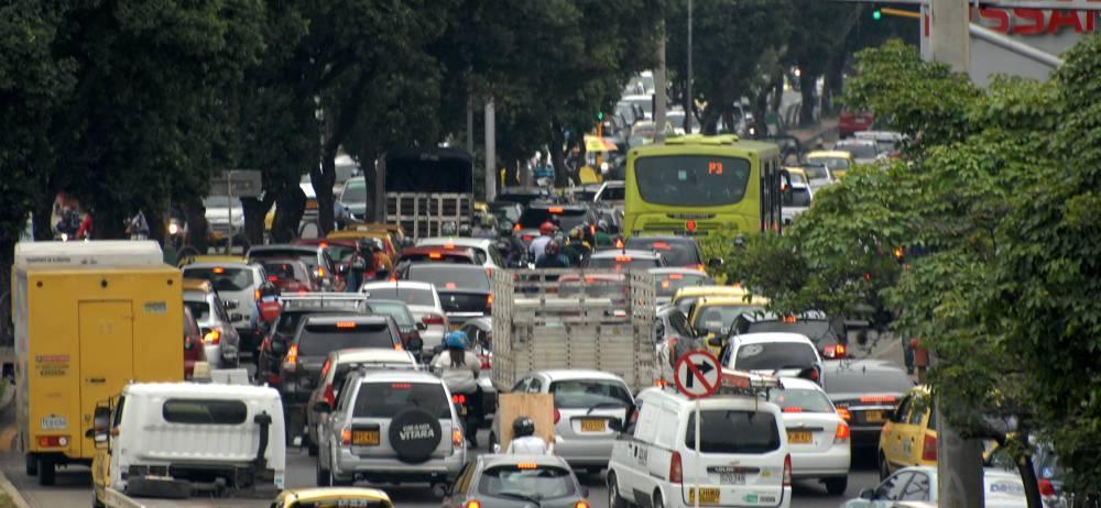 Aunque ayer se volvió a implementar el Pico y Placa, las congestiones otra vez estuvieron 'a la orden del día', tal y como lo registra esta fotografía.