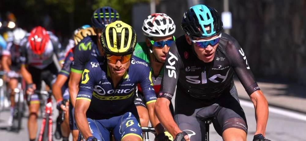 Esteban Chaves ascendió al tercer lugar de la general de la Vuelta a España