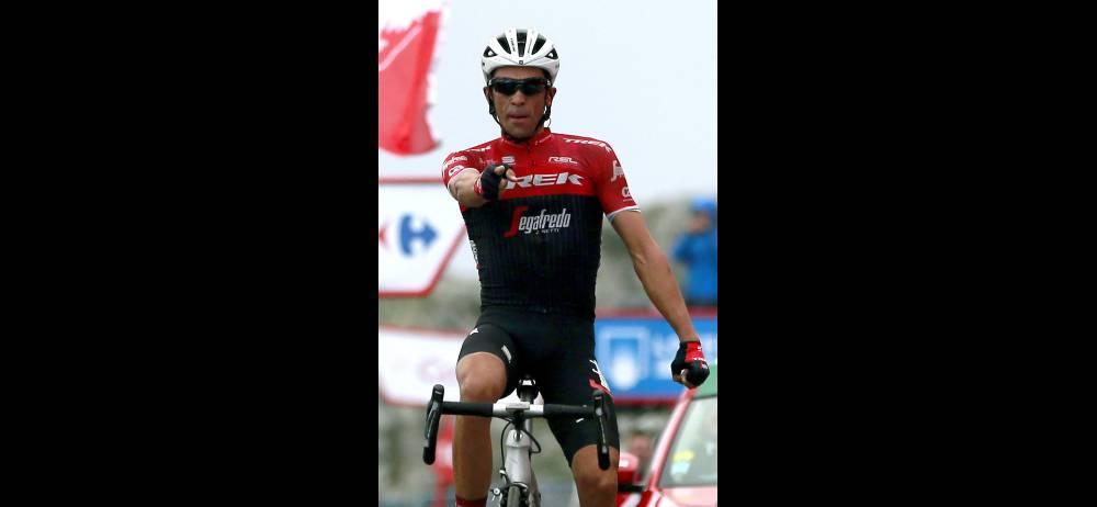 Alberto Contador regaló una exhibición de coraje, entrega y profesionalismo en el ascenso al Angliru, en donde ganó de manera magistral y disparó su última 'bala' como ciclista profesional.