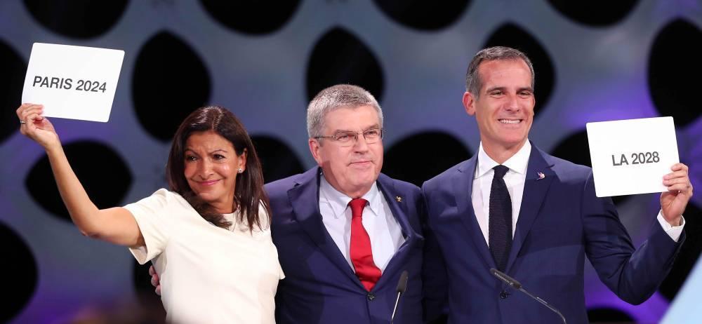 París y Los Ángles serán sede de los Juegos Olímpicos de 2024 y 2028