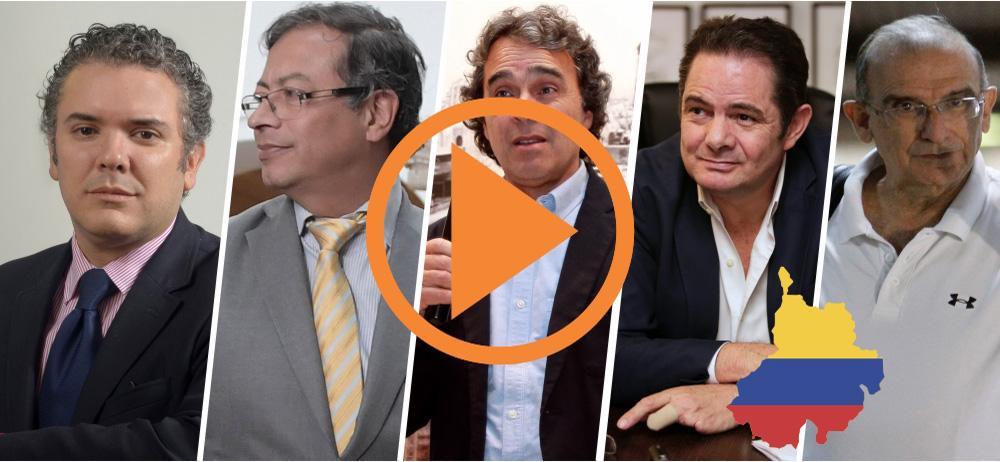 Intención de voto por Iván Duque gana en Santander
