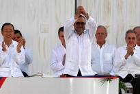 Así fue la firma del acuerdo de paz entre el presidente Santos y las Farc