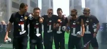 Jugadores alemanes se burlaron del cansancio argentino en la final