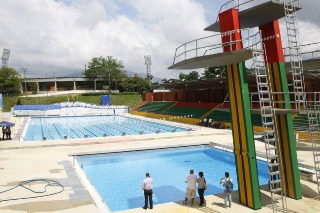 Entregan las piscinas ol mpicas en bucaramanga otros deportes - Numero di telefono piscina ortacesus ...