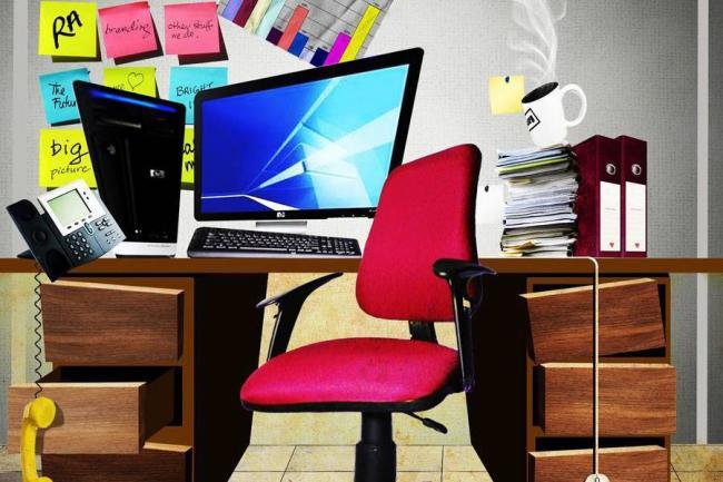cosas que no debe hacer en la oficina