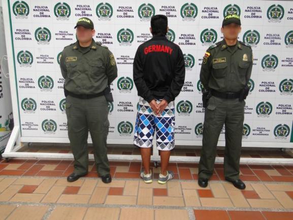 Suministrada Policía Metropolitana de Bucaramanga/VANGUARDIA LIBERAL
