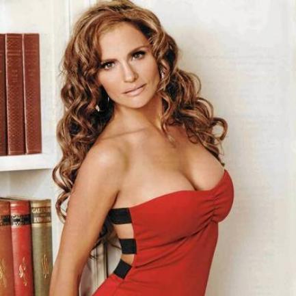Aura Cristina Geithner, muy sexy
