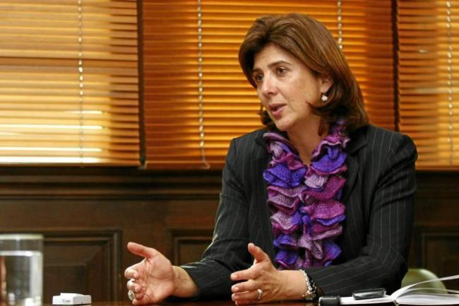 María Ángela Holguín, Canciller de la República