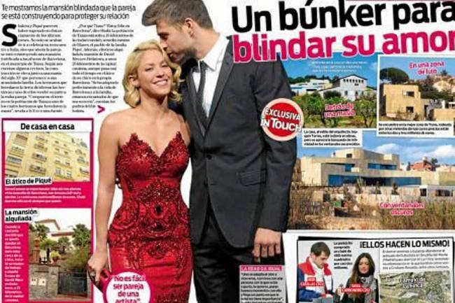 Shakira y piqu en mansi n blindada far ndula for Noticias argentina farandula