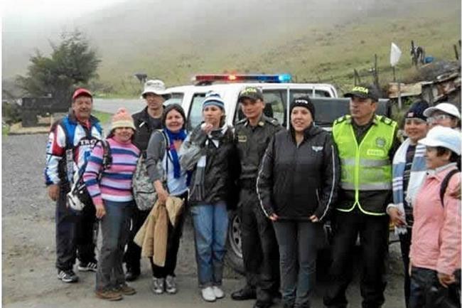 Suministrada Policía de Santander