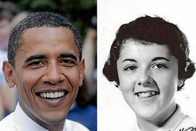 Fotos desnudas de la madre de Obama