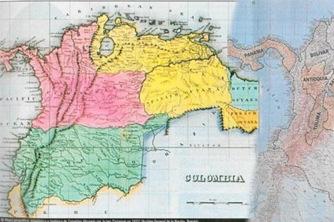 Porqué Colombia ha perdido casi la mitad de su territorio  ?
