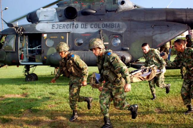 foto guerrilleros colombia: