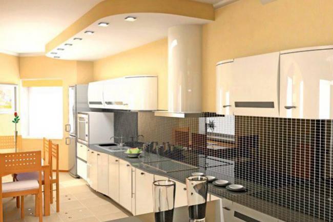 Cocinas cerradas para que vuele la imaginaci n revista for Divisiones para sala y cocina