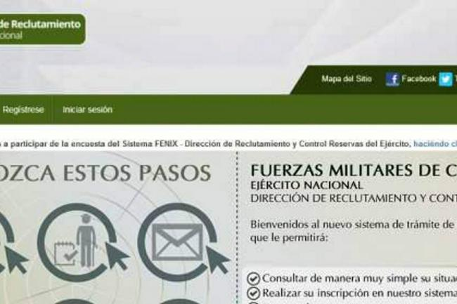 Citas por internet para libreta militar / Club para conocer
