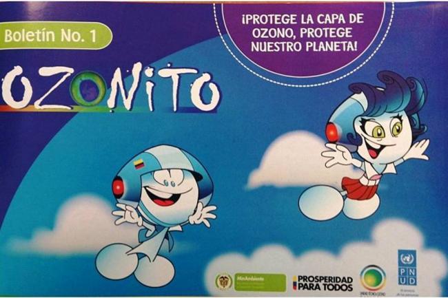 foto capa de ozono:
