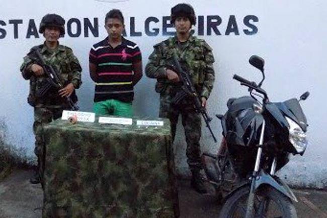 Capturado hombre con \'moto-bomba\' en Algeciras, Huila | Colombia ...