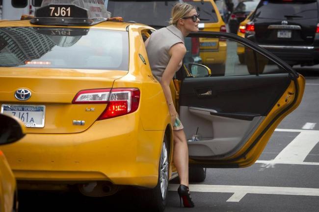 Nova York estrear táxis exclusivos e para as mulheres