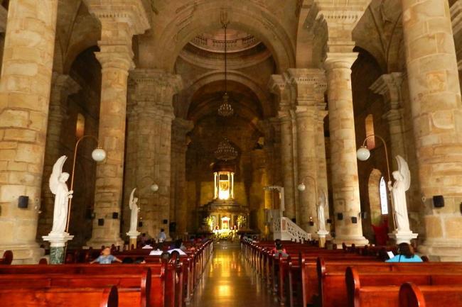 Resultado de imagen para catedral nuestra señora del socorro santander