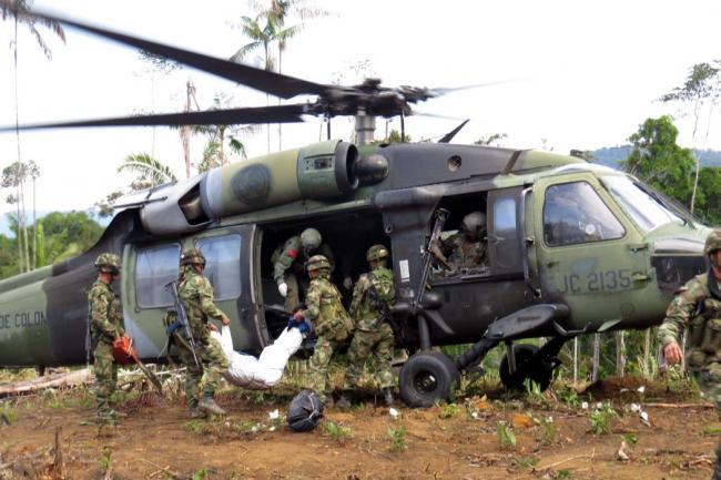 Resultado de imagen para Diez guerrilleros de la DLN Colombia mueren en operación militar