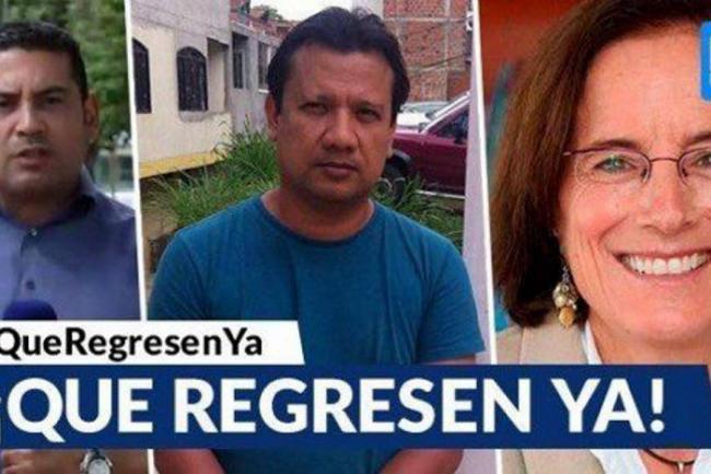 Retienen a reporteros que cubren secuestro en Colombia