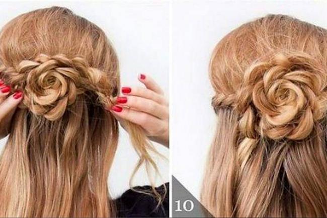los materiales infaltables para hacer un peinado fcil pero que la haga lucir como una mujer elegante son las ligas los ganchos el cepillo y la laca - Peinados Fciles