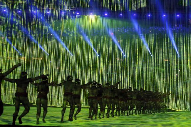 Presidente interino Temer declara abiertos los Juegos de Río 2016 entre abucheos