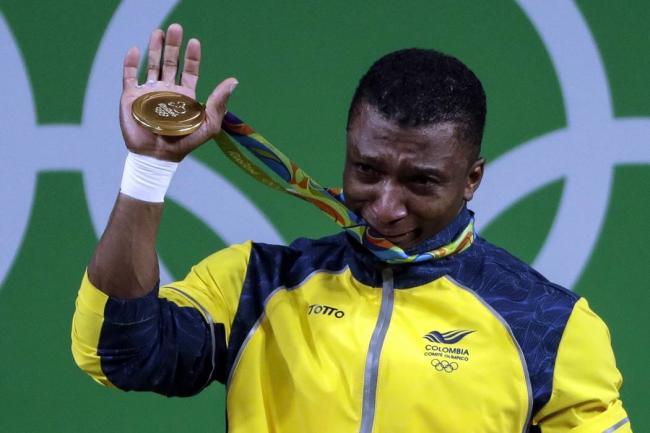 Oro olímpico de Figueroa acapara primeras páginas de diarios colombianos