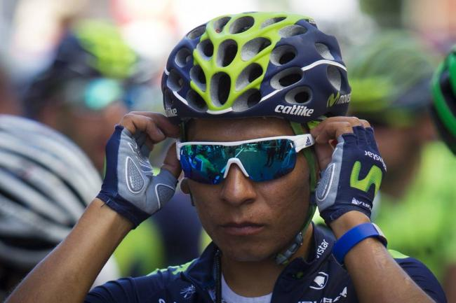 Nairo Quintana hablo de la tercera etapa del Tour